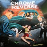 "LP  - ✺✺ CHROME REVERSE  ✺✺ "" They Wanna Fight! """
